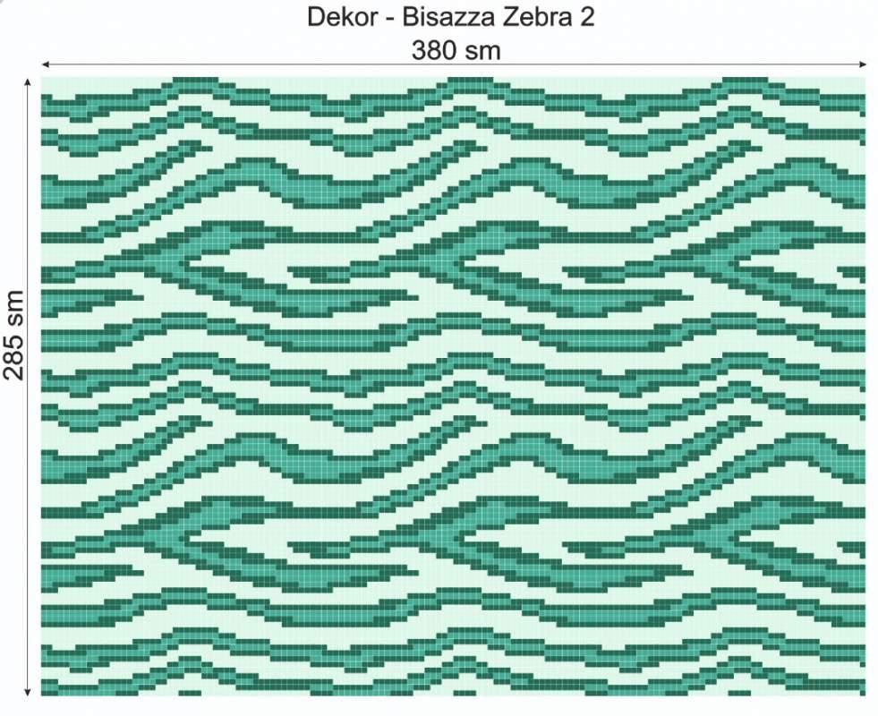 Купить Дизайнерский декор Dek-Bisaz-Zebra-002