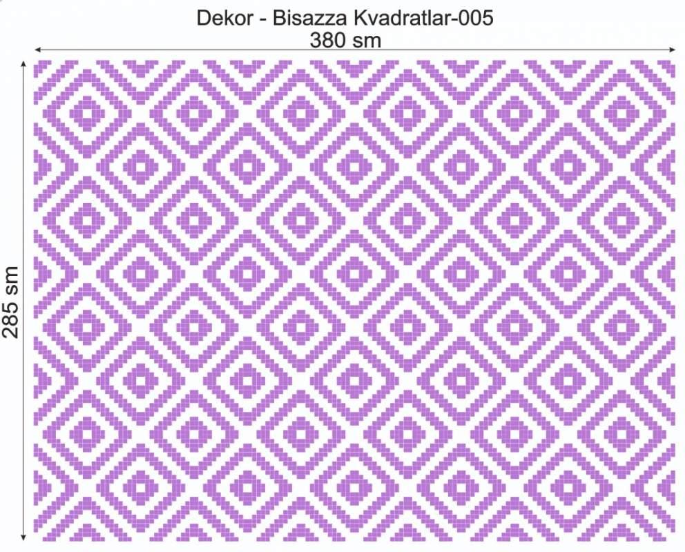 Купить Дизайнерский декор Dek-Bisaz-Kvadratlar-005