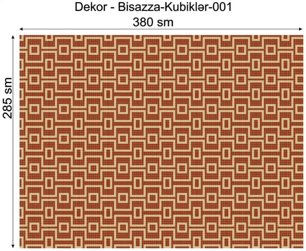 Купить Дизайнерский декор Dek-Bisaz-Kubiklər-001