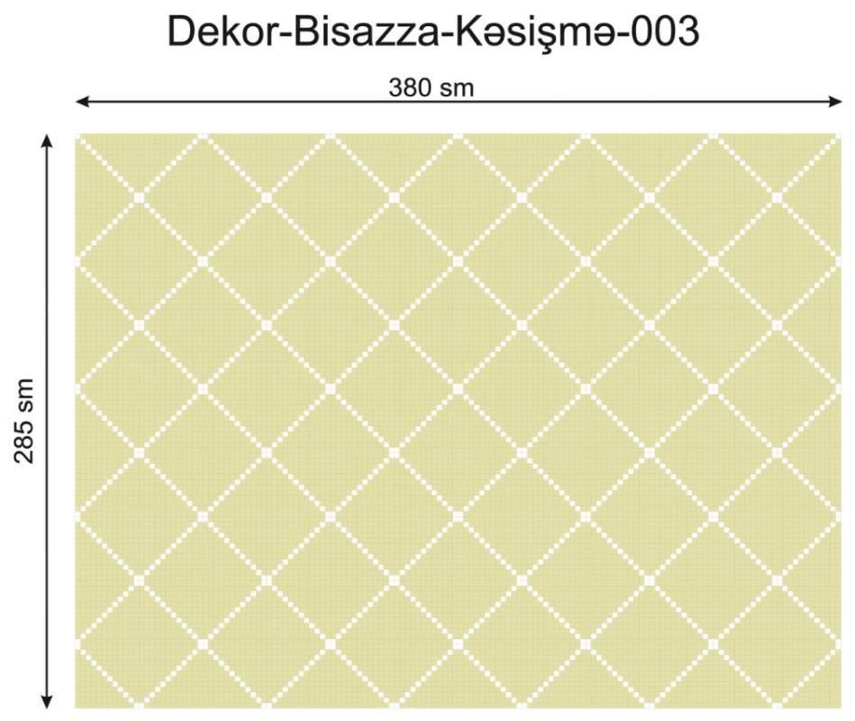 Купить Дизайнерский декор Dek-Bisaz-Kəsişmə-003