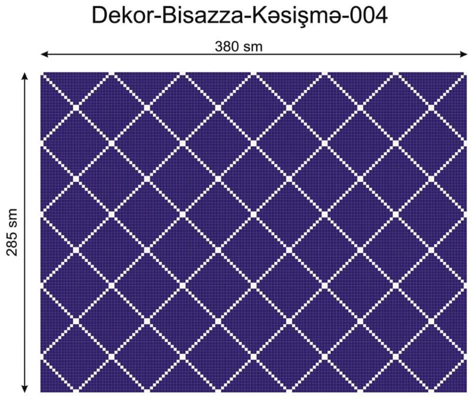 Купить Дизайнерский декор Dek-Bisaz-Kəsişmə-004