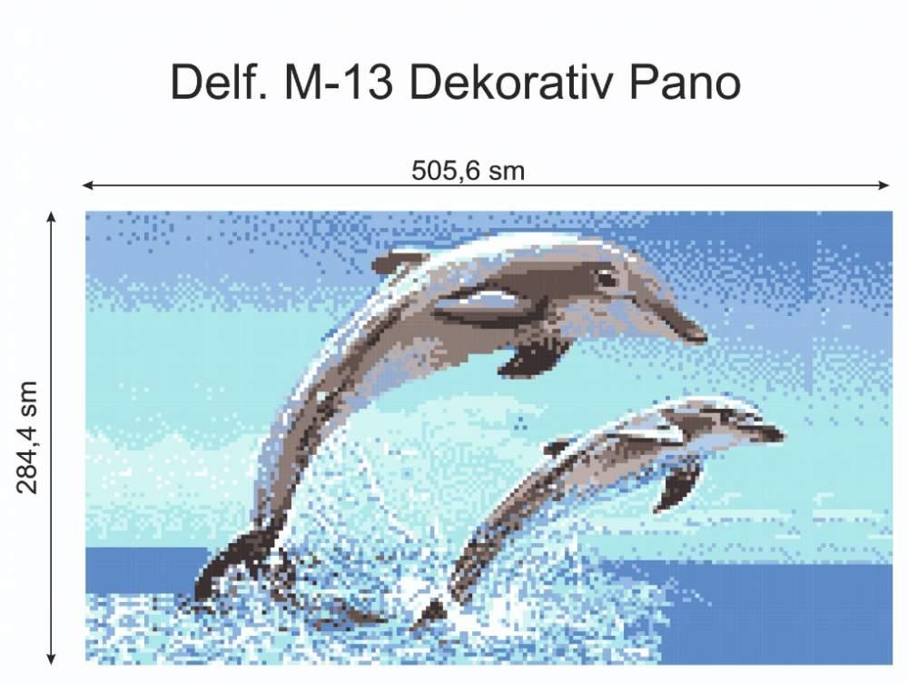Купить Декор для бассейна Delf.M-13-Dekorativ-Pano