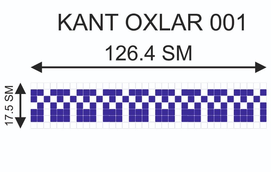 Купить Мозаичный кант Kant-Oxlar-001