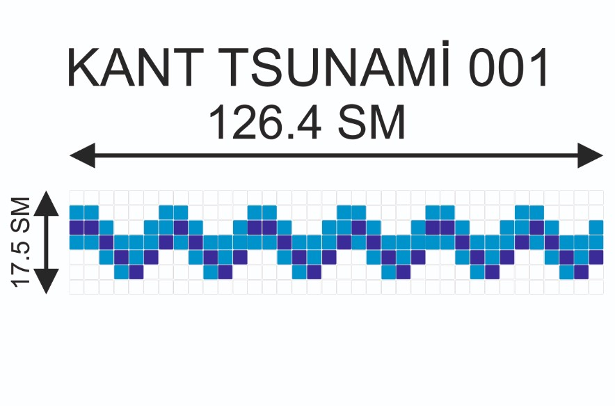 Купить Мозаичный кант Kant-Tsunami-001