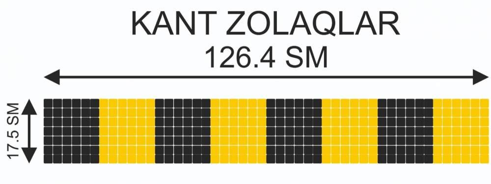 Купить Мозаичный кант Kant-Zolaqlar-001