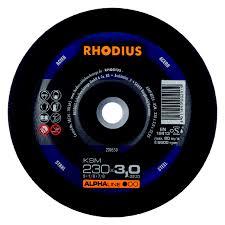 Rhodius kəsmə daşı metal 230x3,0 alfa