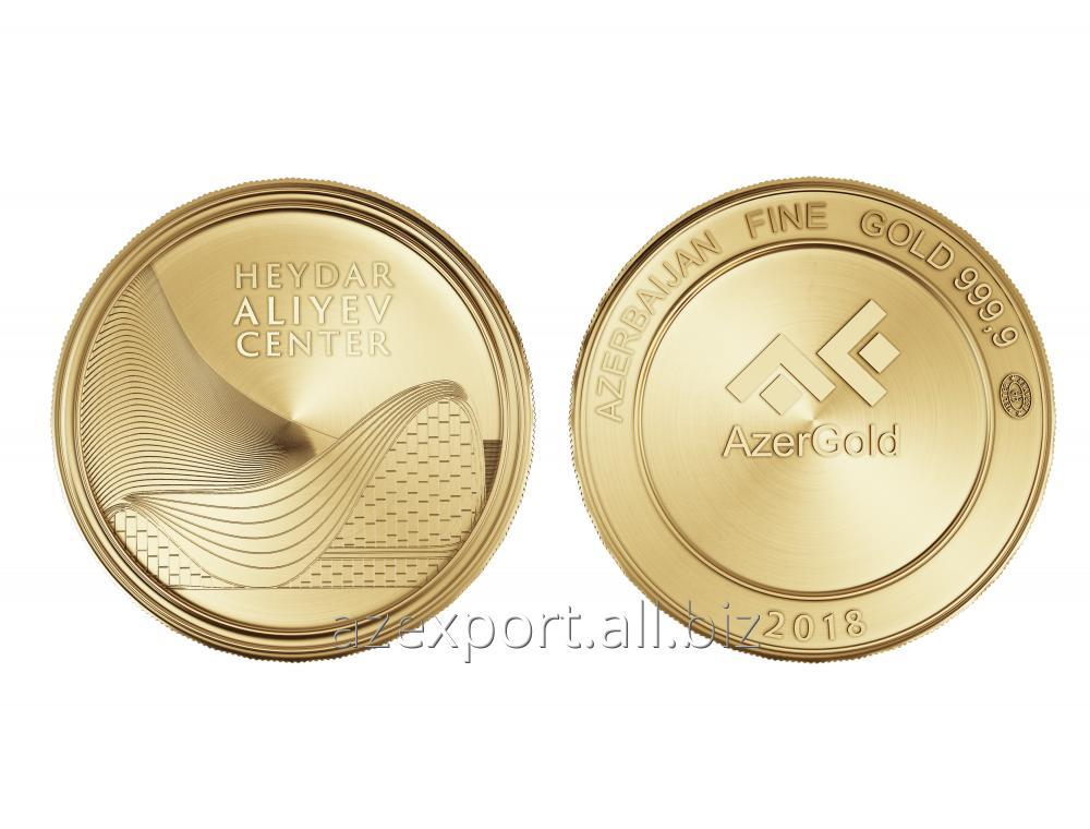Купить Золотая монета - Центр Гейдара Алиева