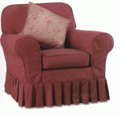 Covers free on chairs, chairs and sofas