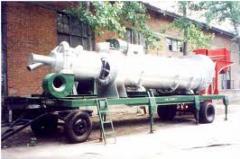Машины и оборудование для работы с битумом