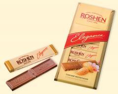 Шоколад с миндалем Roshen