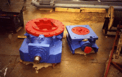 Rotors for rotation of the boring tool