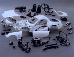 Spare parts to cars