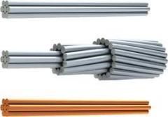 Провода неизолированные для воздушных линий А, АС,