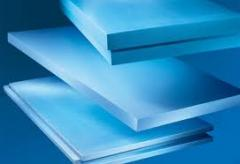 Polystyrene foam plates
