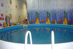 Бассейны плавательные круглые