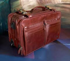 Suitcases leather