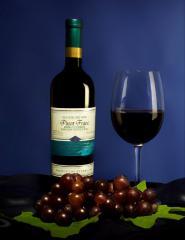 Пино Фран (Вино столовое красное полусухое)