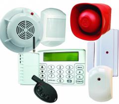 Приборы и оборудование охранной сигнализации