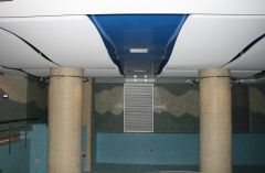 Stretch ceilings two-level