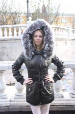 Женская кожаная куртка Armando Diaz