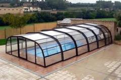 Покрытие и павильоны для бассейн