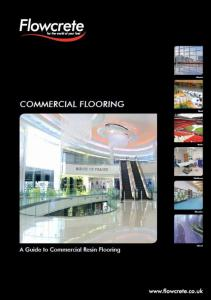 FlowCrete Commercial Flooring systems