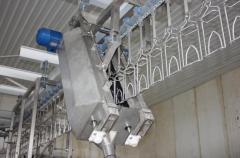 Washing apparatus suspensions