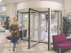 Besam 3-bladed RD3 and 4-bladed RD4 revolving door