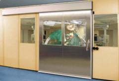 Медицинские автоматические двери