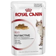 Instinctive (в желе) Влажный корм для кошек старше