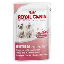 Kitten Instinctive влажный корм для котят с 4 до