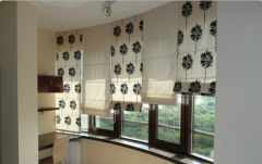 The Roman curtains in Bak