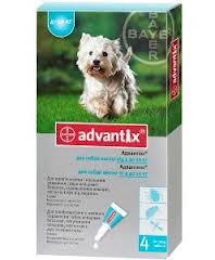 BAYER. Advantix (Адвантикс) вес 4-10 кг