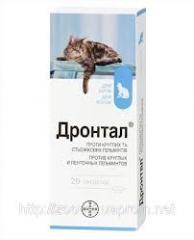 BAYER. Дронтал (Drontal) таблетки для кошек