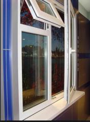 Plastic windows