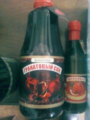 Гранатовые соки