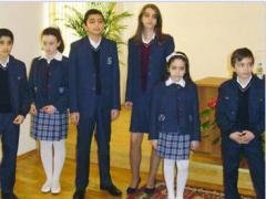 School uniform for girls and boys