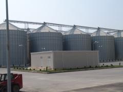 Bunkers for storage of grain Abşeron Taxıl, MMC