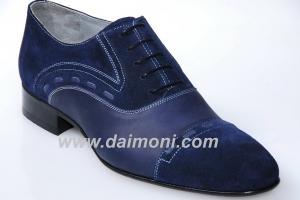 Обувь мужская ручной работы, Daimoni нубук M13Y