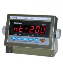 CAS Azerbaijan весовые индикаторы NT - 200 S