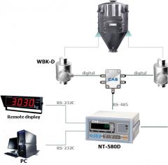 CAS Azerbaijan Весовые индикаторы NT-580D