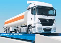 CAS Azerbaijan Electronic Truck Scales