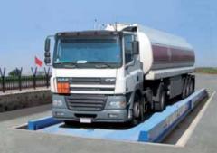CAS Azerbaijan Semi-Pit Type Truck Scales