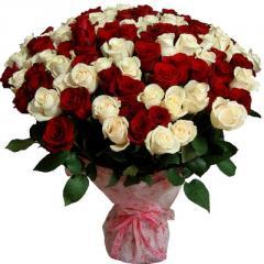 Flowers of Baku Букеты из роз