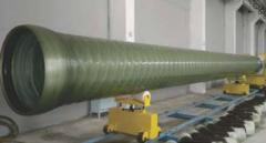 Pipes are fiberglass electrotechnical
