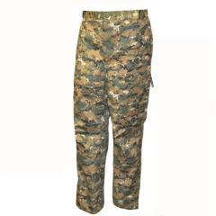 Trousers camouflage warmed