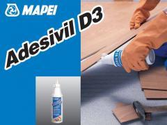Glues for floor coverings of ADESIVIL