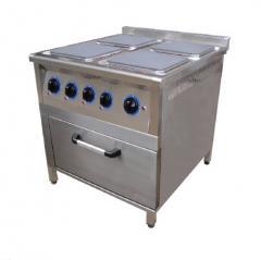 Электрическая плита с духовкой, Dörd gözlü elektrik peçi, sobalı