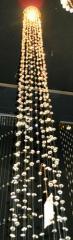 Люстры с хрустальными подвесками в Баку