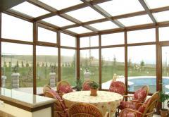Сады зимние из стекла